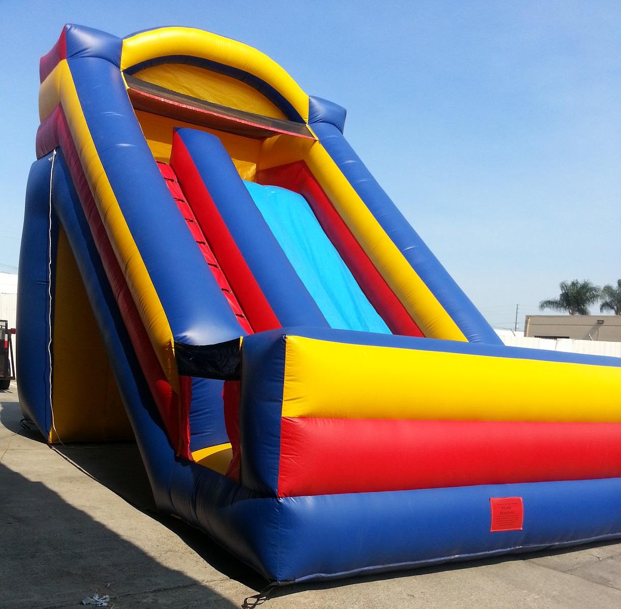Inflatable Giant Dry Slide Jumper | J & N Party Rentals